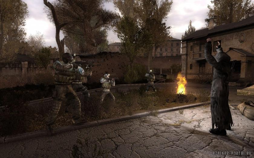 Моды для сталкер Чистое Неба. Faction Combat for FreePlay OGSM 1.8 ver.1.0